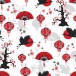 Asian seamless pattern...