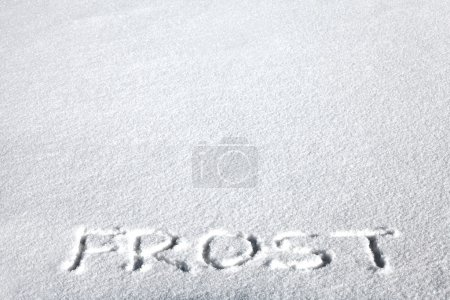 Inscription on the Snow