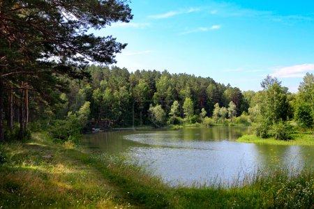 Small River Nature Landscape