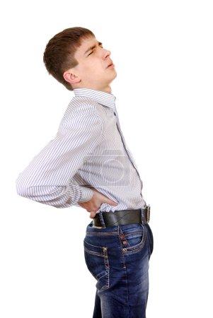 Teenager feels Backache