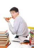 Student s pizzou