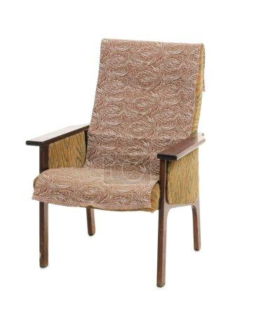 Decorative retro armchair