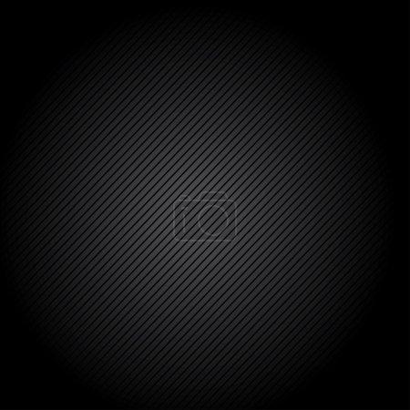 Illustration pour Velours côtelé fond noir - image libre de droit