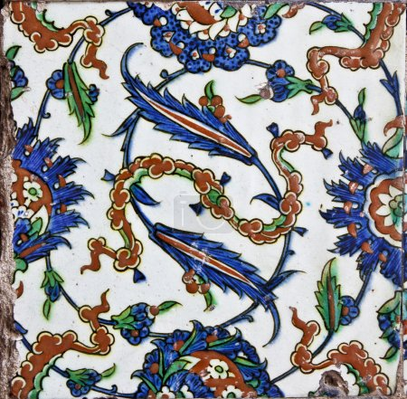 Tile from Topkapi Palace in Istanbul