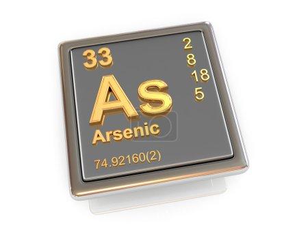 Arsenic. Chemical element.