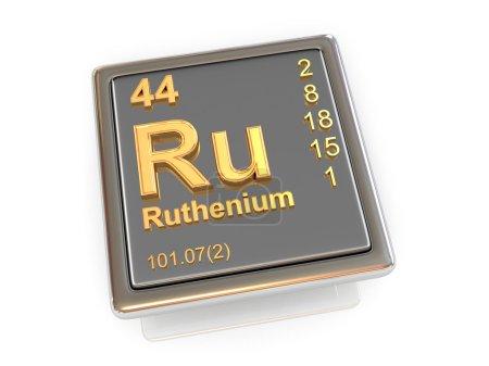 Ruthenium. Chemical element.