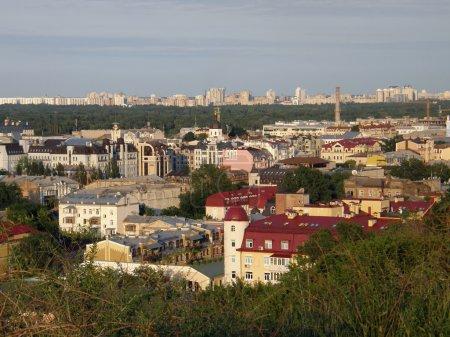 The city's neighborhoods. Kiev.