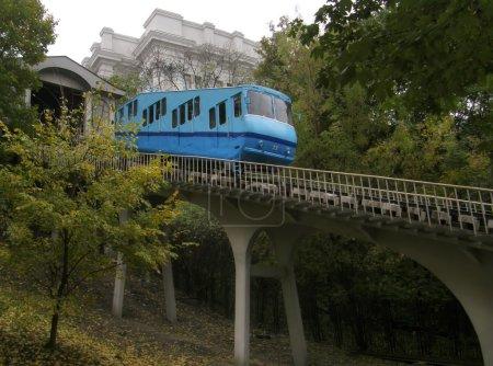 Photo pour Funiculaire de Kiev. Ukraine - image libre de droit