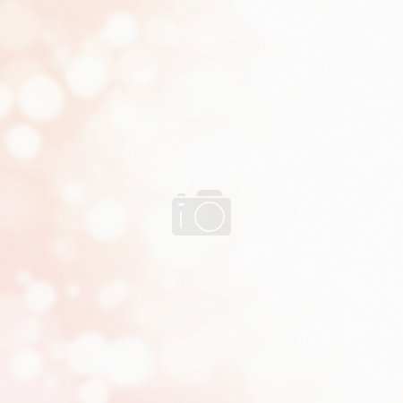 abstract background with circles and copyspace