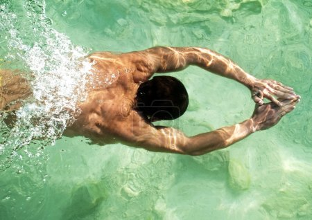 Swimming model
