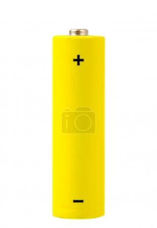 Photo pour Cellule de batterie isolée sur fond blanc - image libre de droit