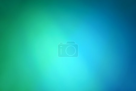 Photo for Abstract gradient background with blue and green colors - Royalty Free Image