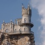 The Swallow's Nest, Yalta, Crimea, Ukraine...
