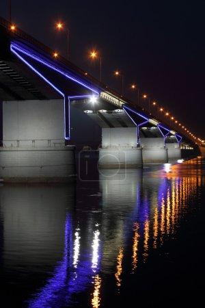 The automobile bridge in Perm.
