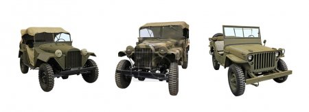 Classic Army Jeeps