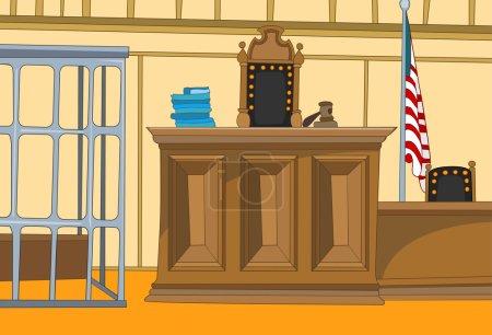Court Cartoon