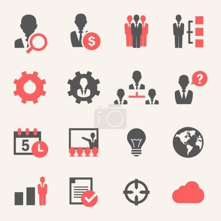 Internet Business. Icon set