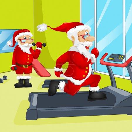 Photo for Cartoon Character Santa Claus. Vector EPS 10. - Royalty Free Image