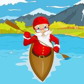Cartoon Character Santa Claus Vector EPS 10