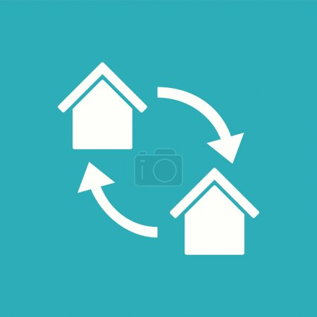 Real Estate Flat Icon. Vector....