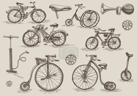 Retro bicycles