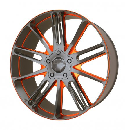 Vehicle alloy disc or wheel
