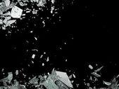 """Постер, картина, фотообои """"уничтожение разрушенной или разрушены стекла"""""""