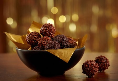 Photo for Chocolate truffles - Royalty Free Image