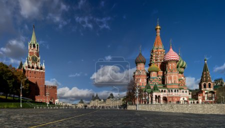 Photo for Moscow Kremlin and St. Basil's Cathedral - Royalty Free Image