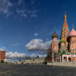 Moscow Kremlin and St. Basil's Cathedral...