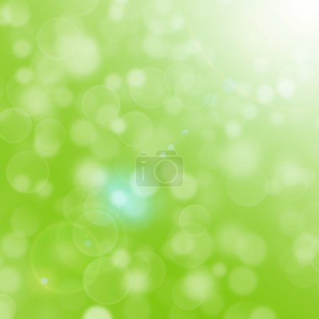 Photo for Green light background - Royalty Free Image