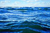 Beautiful sea with blue sky