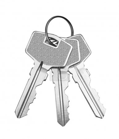 Photo for Keys isolated on white background - Royalty Free Image