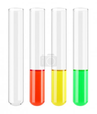 Set of Test tube