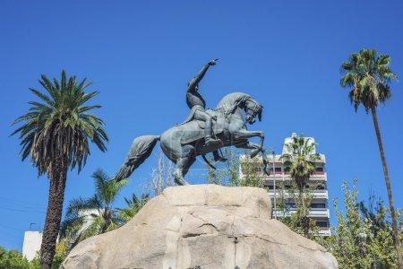San Martin Square in Mendoza, Argentinien.
