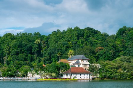 Temple of the Sacred Tooth Relic is a Buddhist temple situated in world heritage site, Kandy, Sri Lanka.