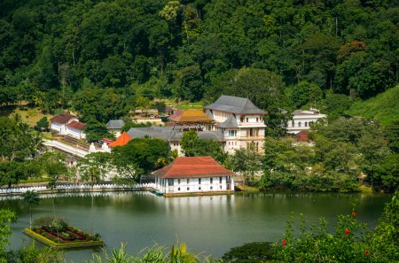 Kandy City View and Temple of the Sacred Tooth Relic