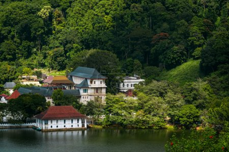 Kandy City View and Buddhist temple