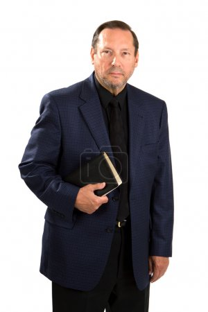 Pastor With Holy Bible