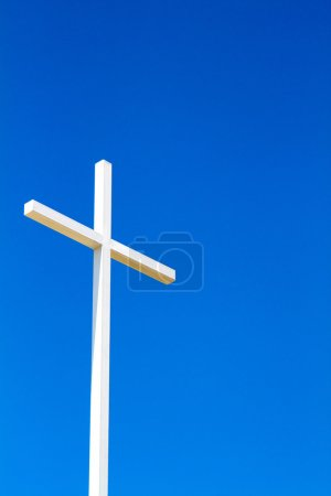 Cross On Blue Sky