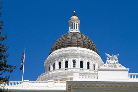 California Statehouse Dome