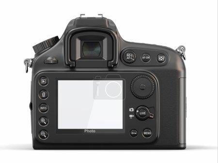 Empty screen on digital photo camera