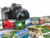 Fotografering. SLR-kamera, film och bilder