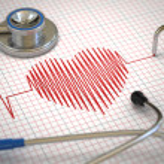 Stethoscope and ECG cardiogram. Medicine concept, ...