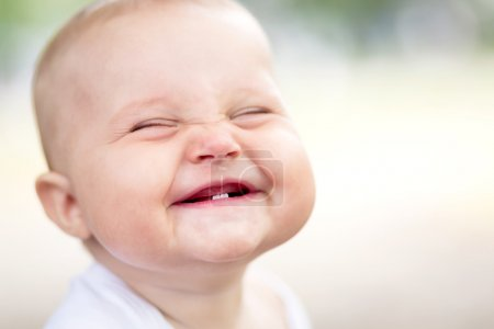 Photo for Beautiful smiling cute baby - Royalty Free Image