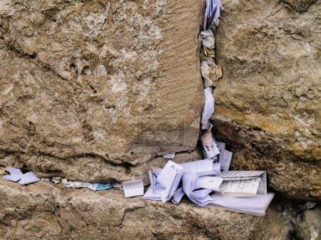 Wailing Wall Detail, Jerusalem, Israel