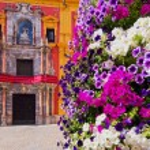 Cityscape of Malaga - capital of the Province of Malaga on Costa del Sol in Andalusia, Spain