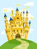 """Постер, картина, фотообои """"волшебный замок"""""""
