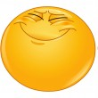 Emoticon hoping hard with crossed fingers...