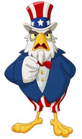 Uncle Sam eagle